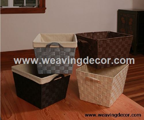 Polyester laundry hamper for wholesale