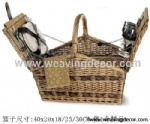 wicker picnic basket with lid wicker picnic baskets for sale