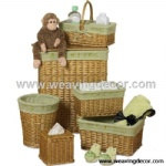 wicker laundry basket with wholesale