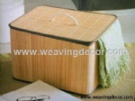 foldable bamboo storage basket storage hamper laundry basket