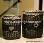 wicker laundry bakset for wholesale